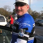 At the start of a memorial ride for Garrett in SC.